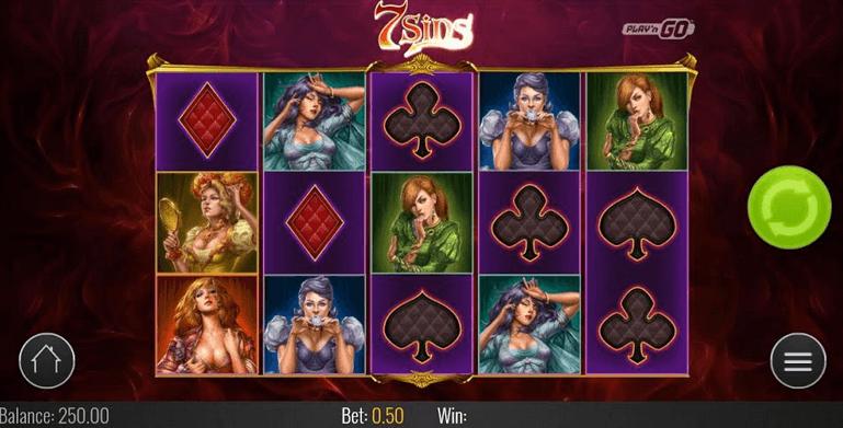 7 Sins Slot mobil