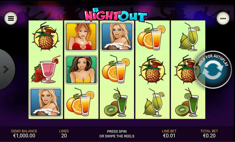 A Night Out Slot mobil