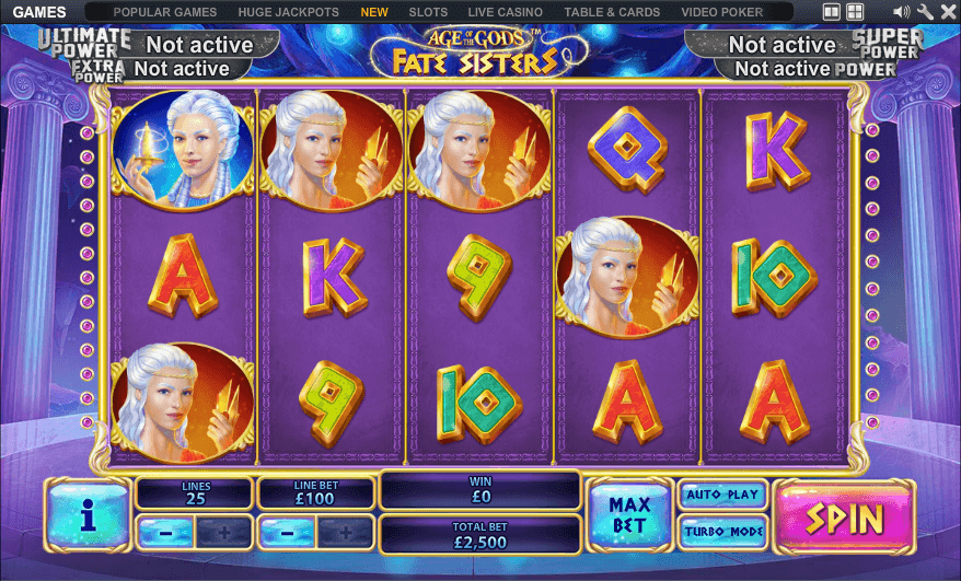 Age of the Gods - Fate Sisters Slot