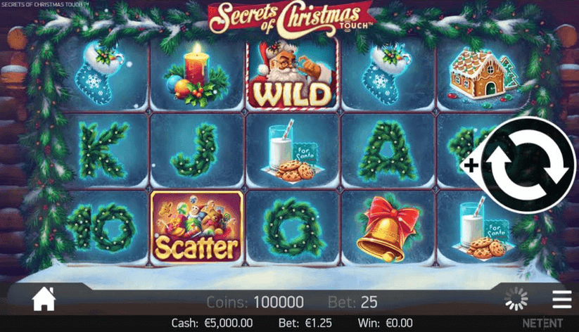 Secrets of Christmas Slot mobil