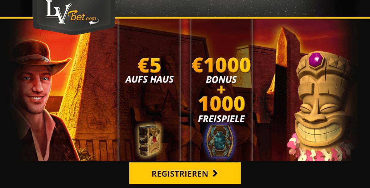 lvbet 5,55 euro aufs Haus