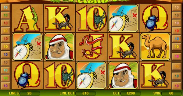 Spiele Secrets Of The Desert - Video Slots Online
