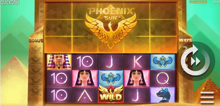 Phoenix Sun Slot Mobil