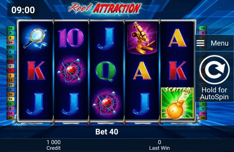 Reel Attraction Slot mobil
