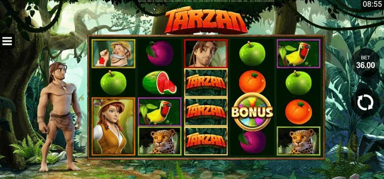 Tarzan Slot mobil