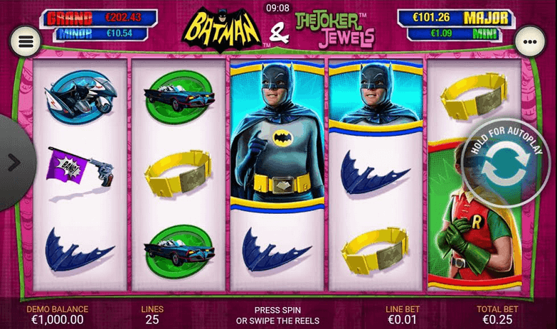 Batman and the Joker Jewels Slot mobil