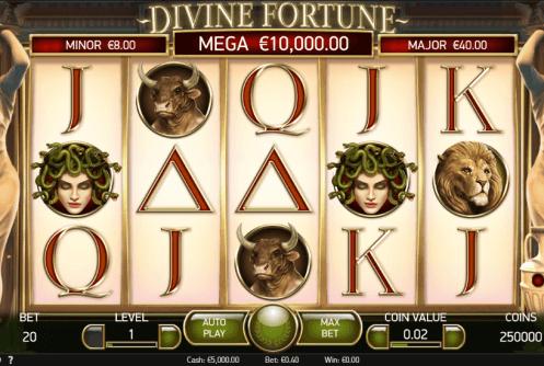 Divine Fortune Slot - Jetzt im Online-Casino Groß Gewinnen