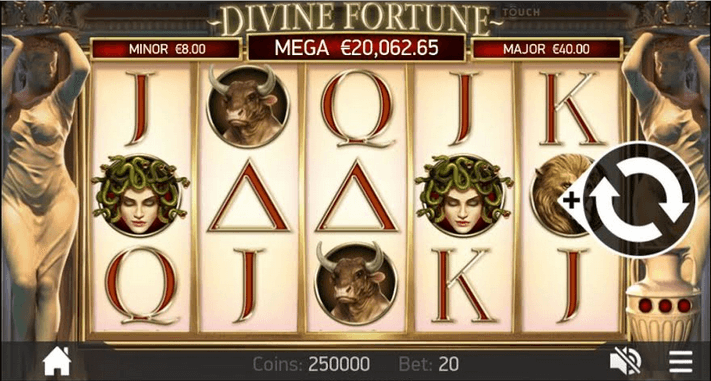 Divine Fortune Slot mobil