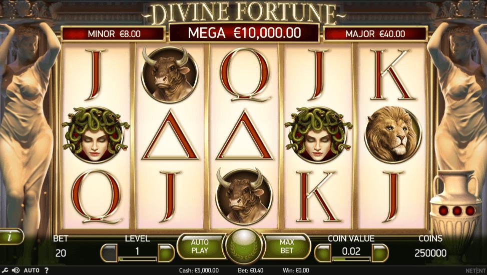 divine fortune spielen