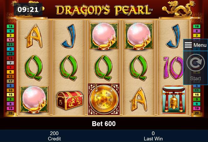 Dragon's Pearl Slot mobil