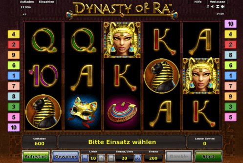 Spiele Dynasty Of Ra - Video Slots Online