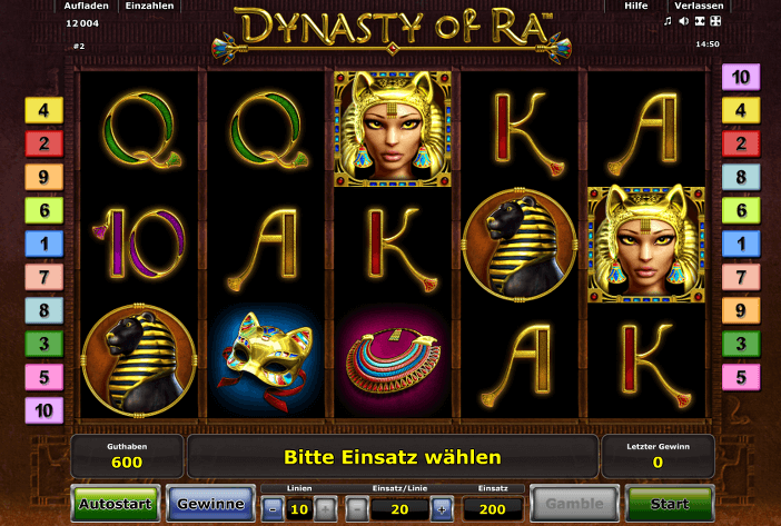 Dynasty of Ra Slot