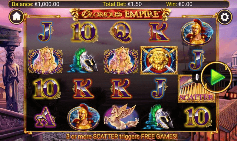 Glorious Empire Slot mobil