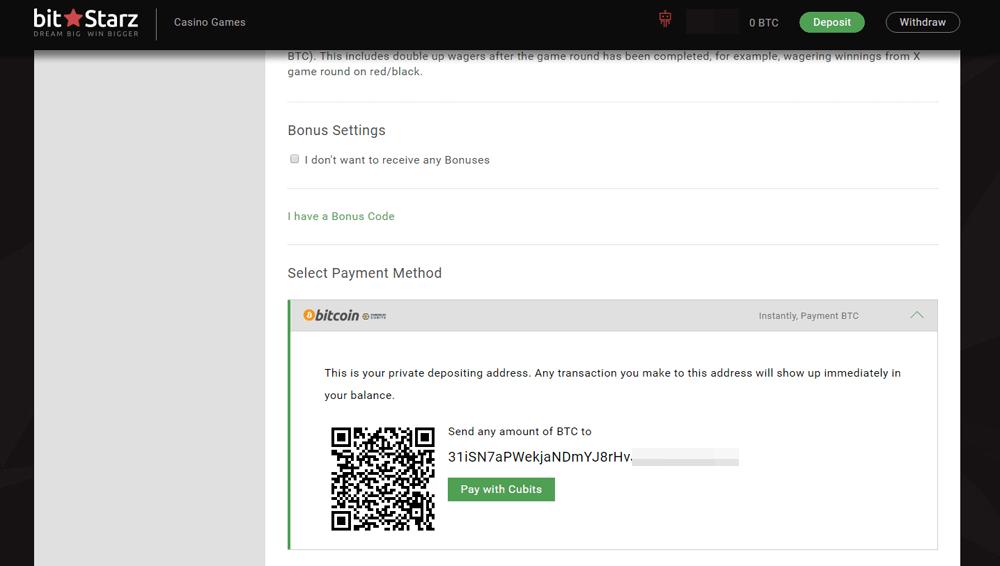 Online Casino mit Bitcoin zahlen