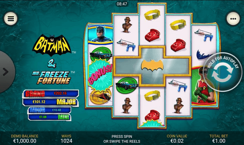 Batman & Mr Freeze Fortune Slot mobil