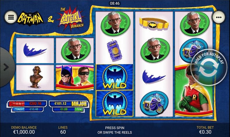Batman & The Batgirl Bonanza Slot mobil