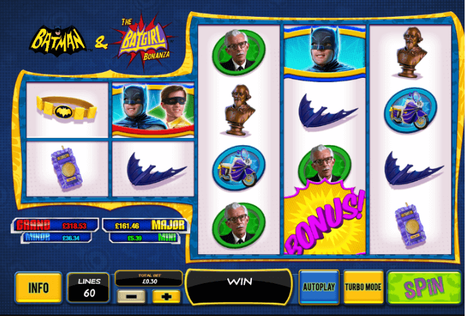 Batman & The Batgirl Bonanza Slot