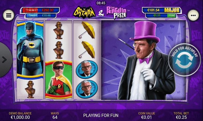Batman & The Penguin Prize Slot mobil