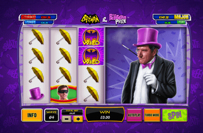 Batman & The Penguin Prize Slot