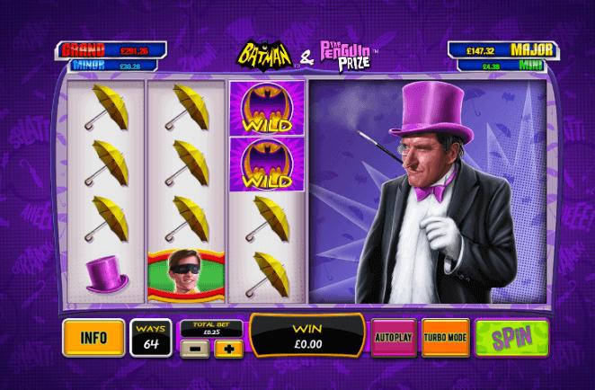 Batman & The Penguin Prize Slot Machine