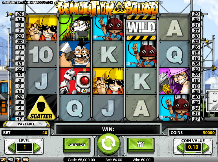 Demolition Squad Slot