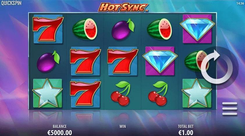 Hot Sync Slot mobil