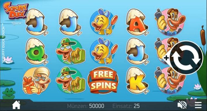 Scruffy Duck Slot mobil