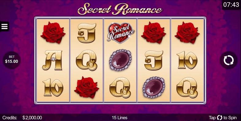 Secret Romance Slot mobil