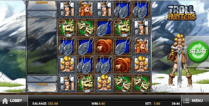 Troll Hunters Slot mobil
