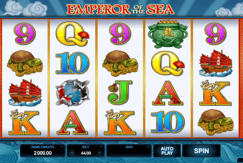 Emperors China Slots - Online Slots-Spiel gratis spielen