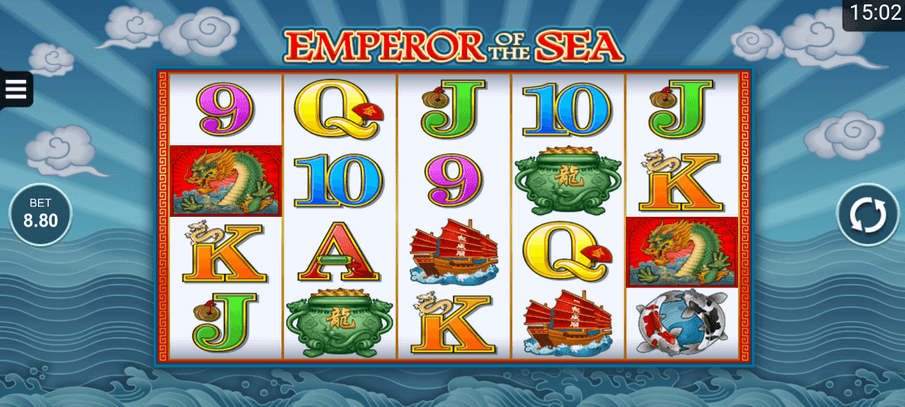 Emperor Of The Sea Slot mobil