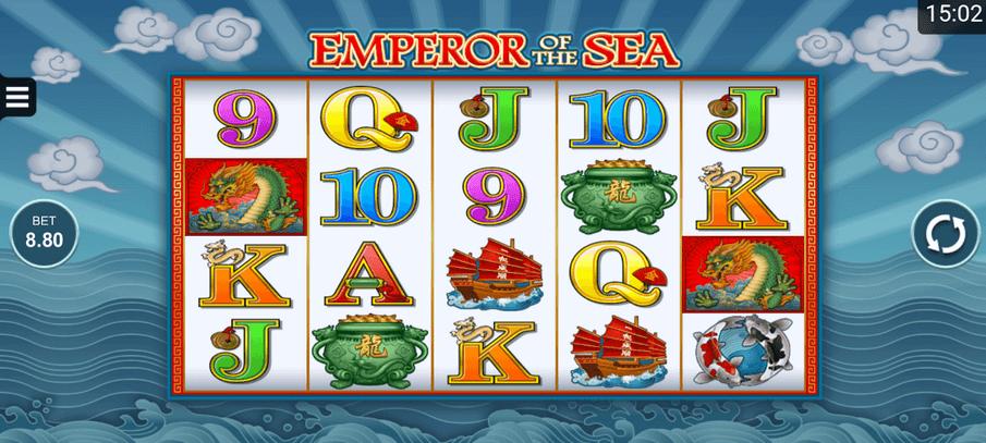 Emperor Of The Sea Slot mobil
