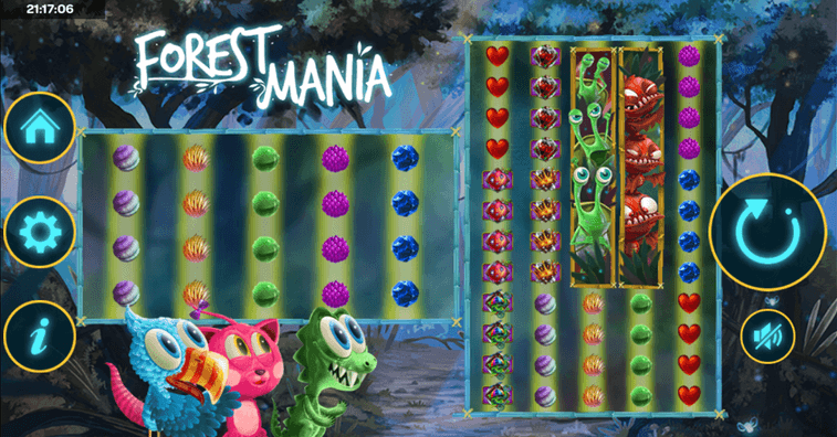 Forest Mania Slot mobil