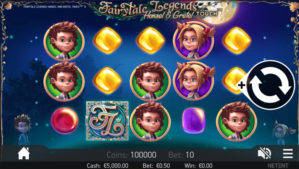 Fairytale Legends: Hänsel und Gretel Slot mobil