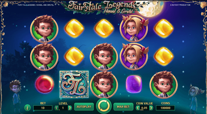Fairytale Legends: Hänsel und Gretel Slot