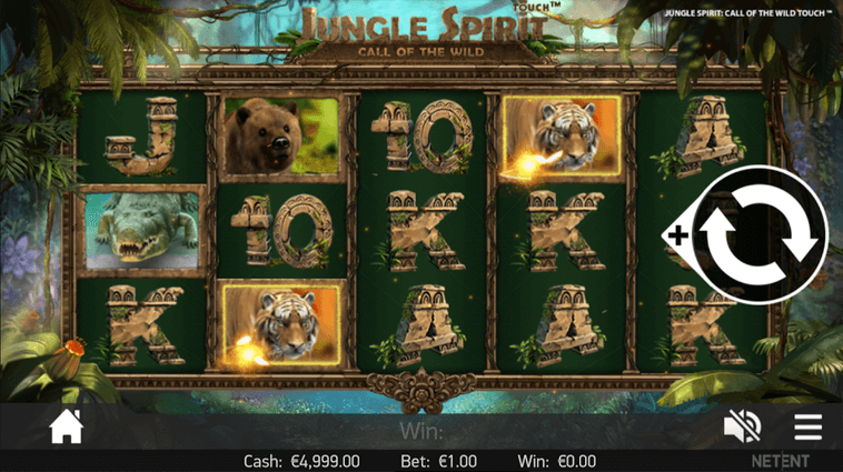 Jungle Spirit: Call of the Wild Slot mobil