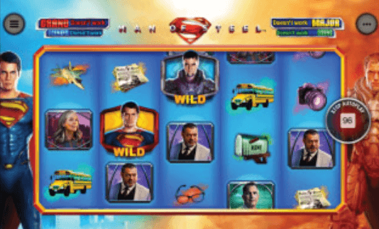 Man of Steel Slot mobil