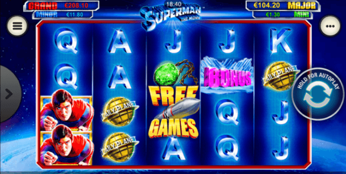 Superman The Movie Slot mobil