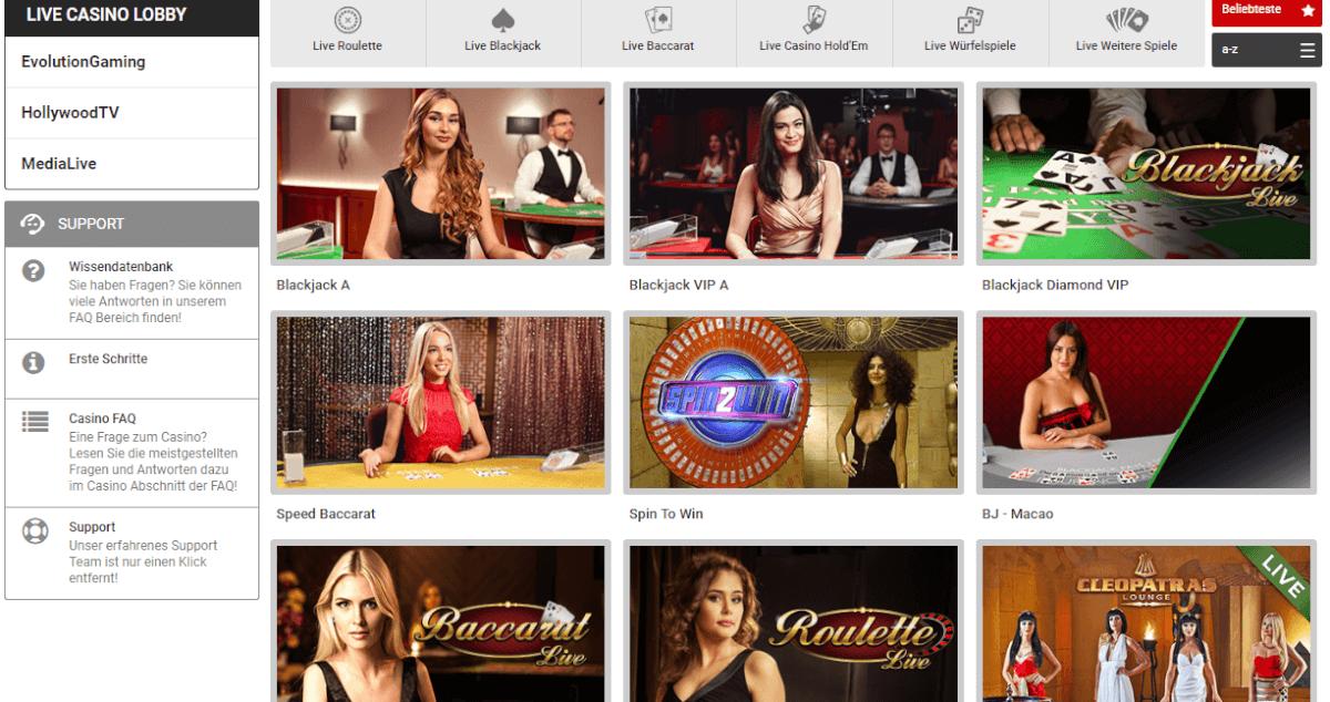 Tipbet Live Casino
