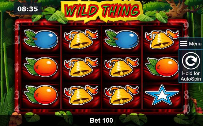 Wild Thing Slot mobil