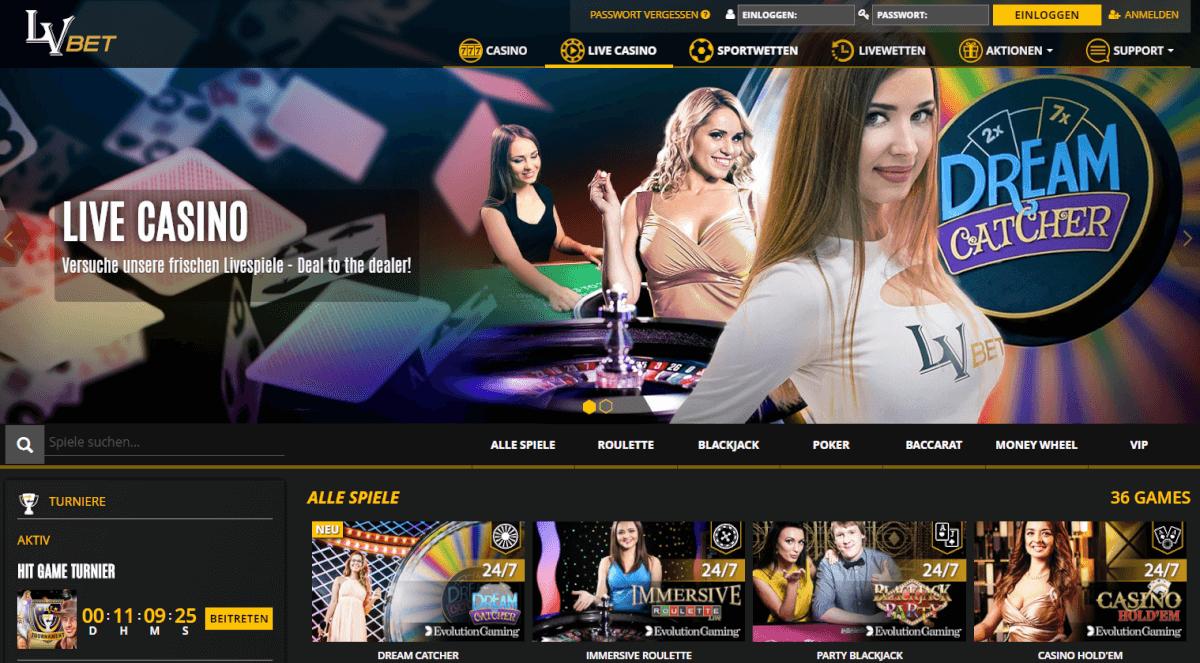 lvbet live casino