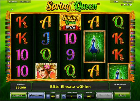 Spring Queen Slot mobil