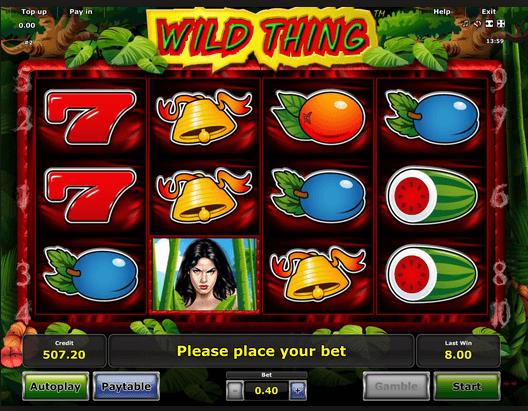 Wild Thing Slot