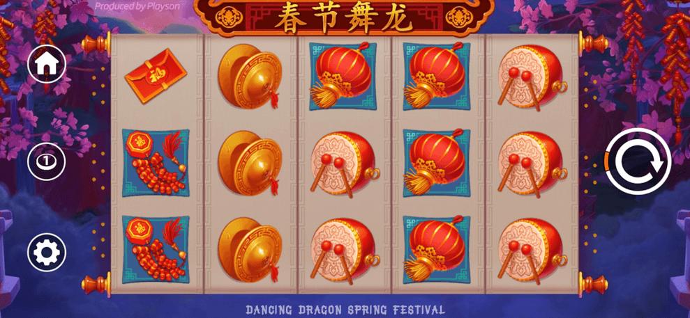 Dancing Dragon Spring Festival Slot mobil