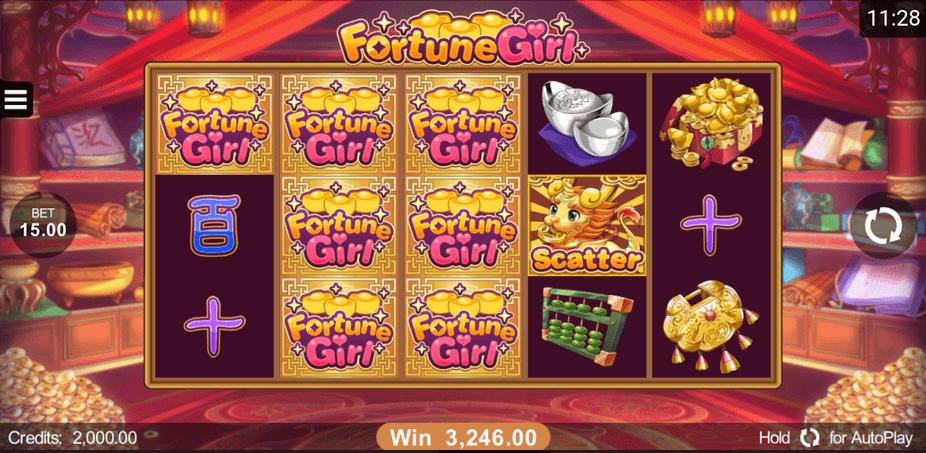 Fortune Girl Slot mobil