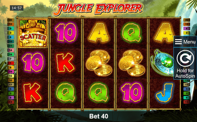 Jungle Explorer Slot mobil