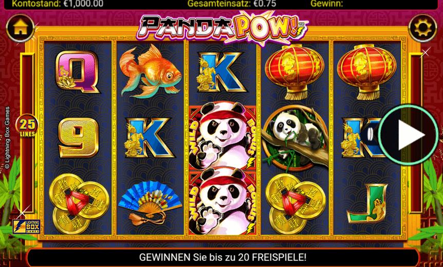 Panda Pow Slot mobil