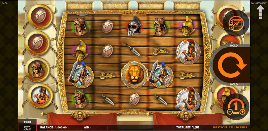Spartacus Call To Arms Slot mobil
