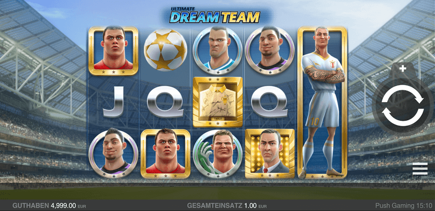 Ultimate Dream Team Slot mobil