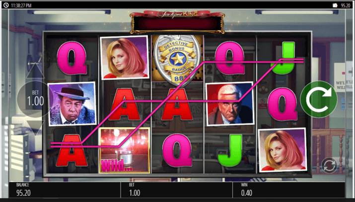 The Naked Gun Slot mobil